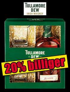 [Norma - Lokal] Tullamore Dew Irish Whiskey Geschenkset inkl. 2 Gläsern - 11,99 €