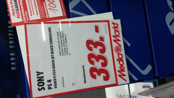 Lokal Nienburg Media Markt Playstation 4 333€ PS TV 49€