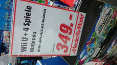 Wii U super mario bros bundle + super smash bros + hyrule warriors + amiibo figur @Media Markt
