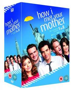 [Amazon UK] How I Met Your Mother Staffel 1-8 (O-Ton) für 35 Euro inkl. Versand