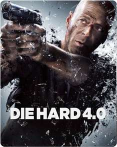 Die Hard 4.0 - Zavvi Exclusive Limited Edition Steelbook inkl. Vsk für ~ 5,64 €  (Tiefstpreis) > [zavvi.uk]