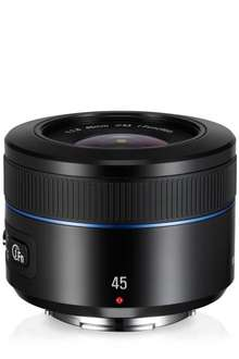 Samsung Objektiv NX 45mm 1.8 i-Function (EX-S45ANB) @Amzazon.it