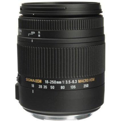 Sigma 18-250 + Gratis Filter NIkon