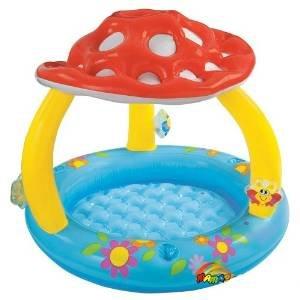 [Amazon WHD] Der Sommer kommt wieder: Mushroom Baby Pool von Intex für 4,32 Euro (Prime) + evtl 3 Euro Versand