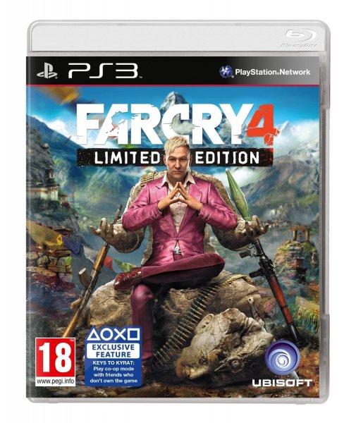 Far Cry 4 Limited Edition für die PS3 / Xbox 360 [UK]