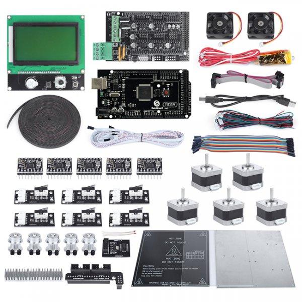 Ramps 1,4+LCD12864+a4988+mega2560 R3+endstop+J-head+motors+cooler Fan Kühler Für Reprap 3d Drucker
