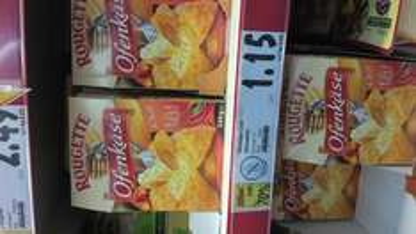 "Kaufland Rougette Ofenkäse Chili ""laktosefrei"" 1,15€"