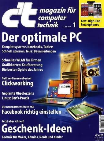 c't Plus im 6-Monatsabo, Deutsche Post LESERSERVICE