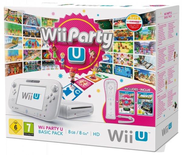 Wii U Party U Basic Pack für 189€ aus den Niederlanden