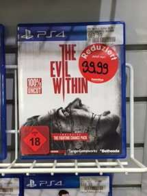 [LOKAL | Gamestop Stuttgart] The Evil Within (100% UNCUT) | PS4