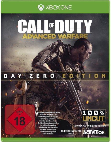Amazon Blitzangebot - Call of Duty Advanced Warfare Day Zero Edition (PS4/XBONE) 39,97€ + 5€ Versand
