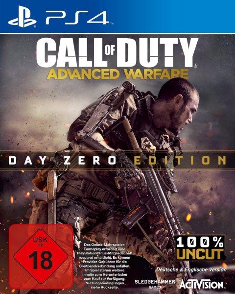 Call Of Duty: Advanced Warfare - Day Zero Edition (PS4, XONE) für 40€ + 5€ VSK @amazon