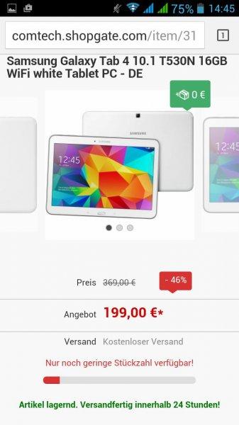 Samsung Galaxy Tab 10.1 SM-T530NZWADBT @comtech