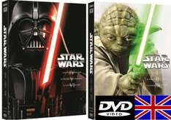 Star Wars Teil 1-6 Englisch mit Deutschen Untertitel DVD (Amazon Spanien)