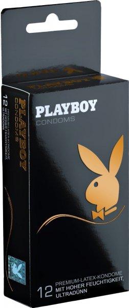 Playboy Kondome - 12er Pack, 6 Varianten