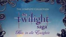 [Amazon.de] Die Twilight Saga - Biss in alle Ewigkeit/The Complete Collection Blu-ray für 17€ + ggf 1,50€ VSK