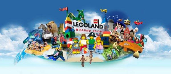 [GROUPON] Legoland Billund - 3Pers. für 54,40€; 4Pers. für 71,40€; 5Pers. für 88,40€