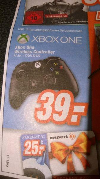 Xbox One Controller für 39€ bei Total in Bielefeld