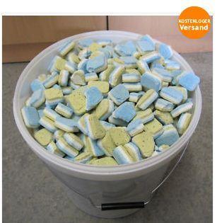 10 kg ca. 500 Stk. Geschirrspültabs (Bruchware)
