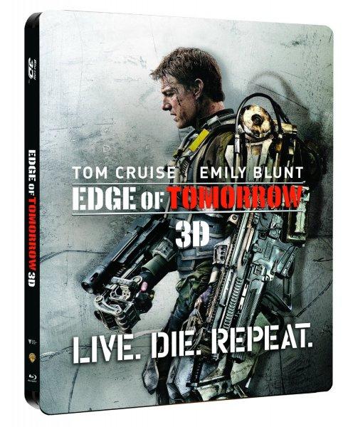 Live. Die. Repeat. - Edge of Tomorrow 3D (Limited Steelbook) für 25,99€ @cede.de