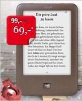 eBook Reader Tolino shine bei hugendubel.de 69€ am 19.12.2014 - Gutschein geht aber schon heute!