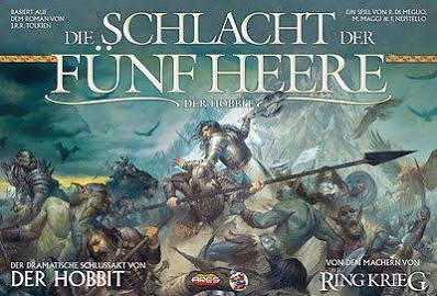 [Spiele-Offensive] Die Schlacht der Fünf Heere Brettspiel von Heidelberger Spieleverlag
