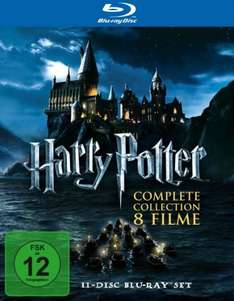 Harry Potter Komplettbox  Blu Ray MM Berlin (Lokal) 29€
