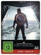 Captain America 2 - The Return of the First Avenger (Steelbook - Real 3D + 2D)  bei Cede