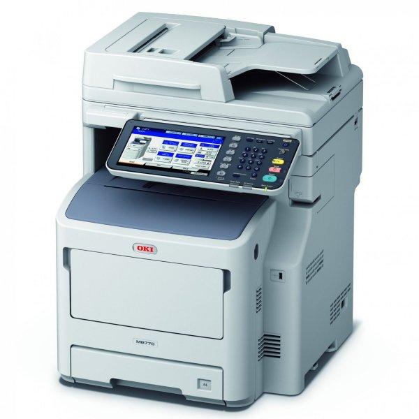 OKI MB770dn MFP mono Drucker A4 52ppm print scan c