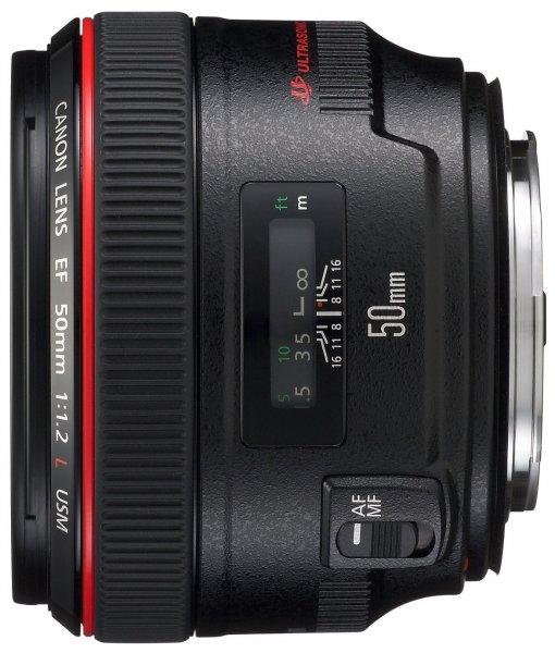 Canon EF 50mm f1.2 L USM (72mm) [AMAZON] 1099,-