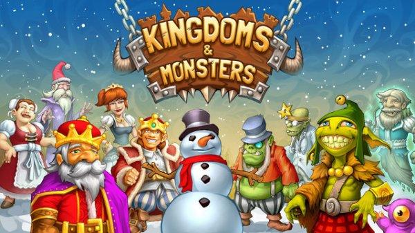 Starterpaket im Wert von 4,50 Euro gratis für das iOS-Aufbauspiel Kingdoms & Monsters