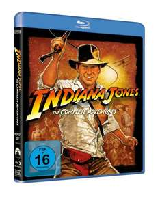 [Blu-ray] Indiana Jones - The Complete Adventures für 17,01 € inkl. Versand @buch.de