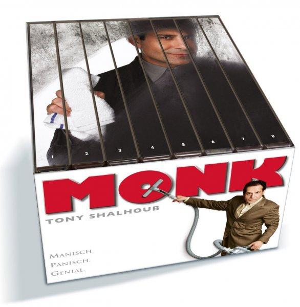 Monk komplette Serie 2. Auflage für 44,99€ @Mediadealer
