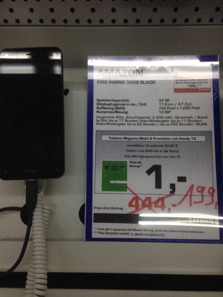 Lokal Herford: Amazon Fire Phone 32 GB für 199€ anstatt 444€