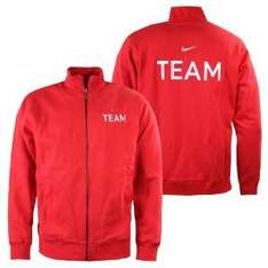 Nike Team Fleece Herren TrackTop Trainingsjacke rot Sweatjacke @Amazon mp
