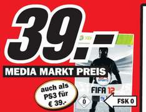 [LOKAL MM OFFENBURG] Fifa 12 | PS3/Xbox360