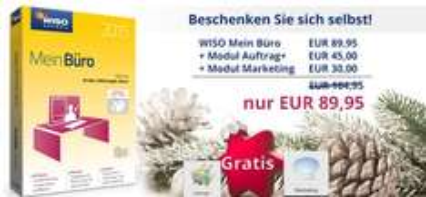 WISO Mein Büro 2015 inkl. Module Auftrag+ und Marketing als Download für 89,95
