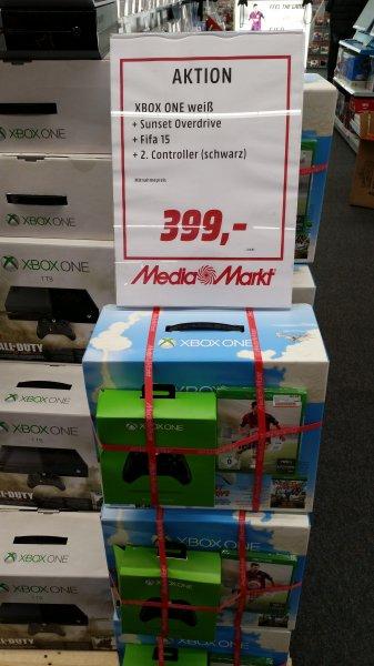 Xbox One Weiß + Fifa 15 und 2`ten Controller Lokal Düsseldorf