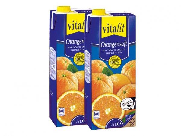 [Lokal] Lidl - Vitafit Orangensaft1,5l für 0,99€ am 20.12.2014