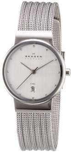 [Amazon] Skagen Damen-Armbanduhr XS Analog Quarz Edelstahl 355SSS1 für 94,75 €