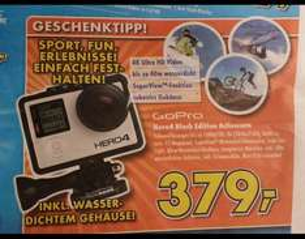 GoPro Hero 4 Black Lokal Sindelfingen