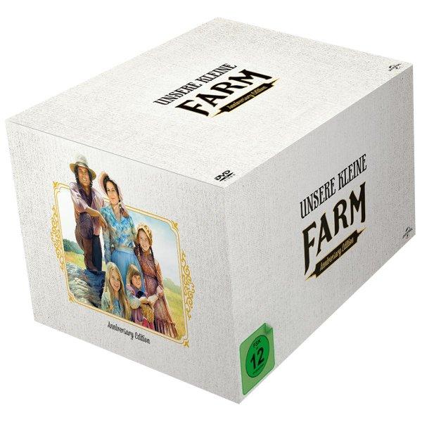 Unsere kleine Farm - Die komplette Serie (Limited 40th Anniversary Edition, 58 Discs) [DVD]