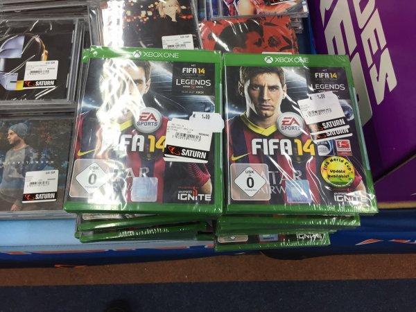 [lokal] Saturn Hennef FIFA 14 (Xbox One) für 1€