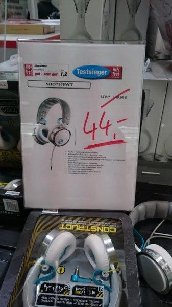 [Lokal Würzburg] [Mediamarkt] Philips SHO7205 On-Ear Kopfhörer in weiß (Idealo: 55€)