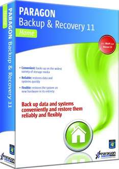 Paragon Backup & Recovery 11 Home für 4,95€
