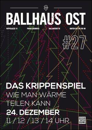 [Berlin] Krippenspiel im Ballhaus Ost