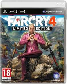 Far Cry 4 Limited Edition für PS3 / Xbox 360 / PC @Zavvi.de