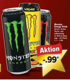 Monster Energy Drink bei Lidl