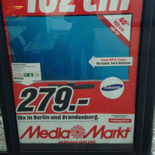 """Fernseher Samsung 40"""" UE 40 H 5070 MM Berlin Brandenburg 279€"""