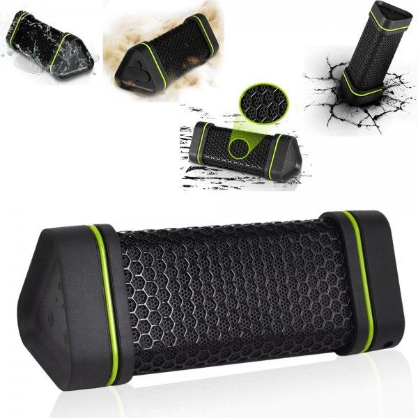 Tolle mobile Wasserdichte Stereo Bluetooth Box ES 151a mit 1500mah Akku für 14,33 Euro von Banggood